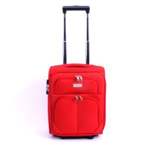 WIZZAIR méretű piros színű kabinbőrönd
