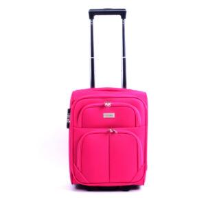 42*32*22 cm WIZZAIR méretű rózsaszín kabinbőrönd