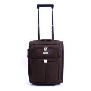 42*32*22 Cm Wizzair Méretű Sötétbarna Kabinbőrönd