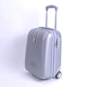 42*32*22cm WIZZAIR méretű ezüst kabinbőrönd