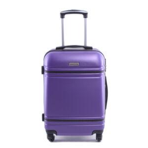 Leonardo Da Vinci 75X47X29Cm Bőrönd Lila