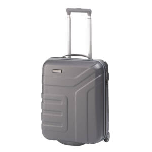 Travelite Vector Szürke Gurulós Kis Méretű Két Kerekű Bőrönd