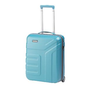 Travelite Vector Türkiz Gurulós Kis Méretű Két Kerekű Bőrönd