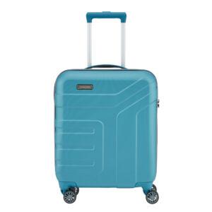 Travelite Vector Türkiz Gurulós Kis Méretű Bőrönd
