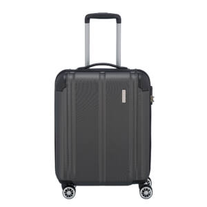 Travelite City Szürke Gurulós Közepes Méretű Bőrönd