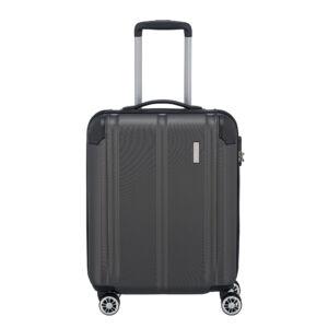Travelite City Szürke Gurulós Nagy Méretű Bőrönd