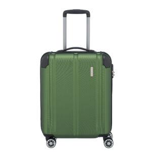 Travelite City Zöld Gurulós Kis Méretű Bőrönd