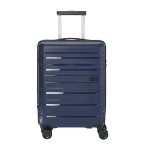 Travelite Kosmos Tengerészkék Közepes Méretű Gurulós Bőrönd