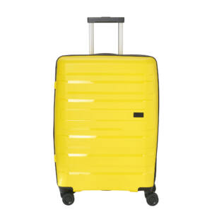 Travelite Kosmos Sárga Nagy Méretű Gurulós Bőrönd