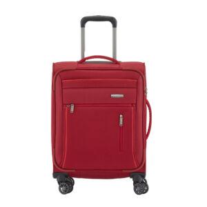 Travelite Capri Piros Gurulós Kis Méretű Bőrönd