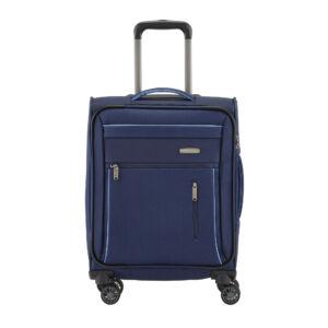 Travelite Capri Kék Gurulós Közepes Méretű Bőrönd