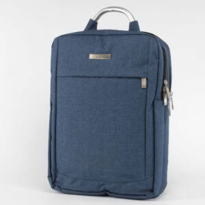 Kék Vászon Laptop tartós Hátizsák