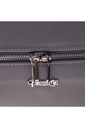 Prestige Női Műbőr Szürke Hátizsák