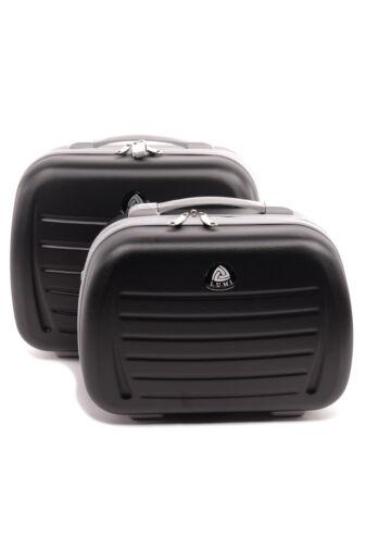 Kicsi Fekete Kemény Bőröndre Akasztható Táska 36cm x 25cm x 18cm