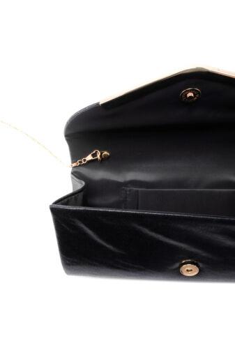 Ezüst női csillámos alkalmi táska