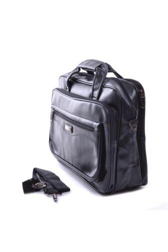 584 Fekete Műbőr Laptoptáska / Kézitáska