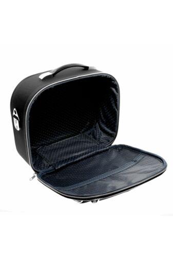 Fekete-Piros Bőröndre Akasztható Táska 30x23x14Cm