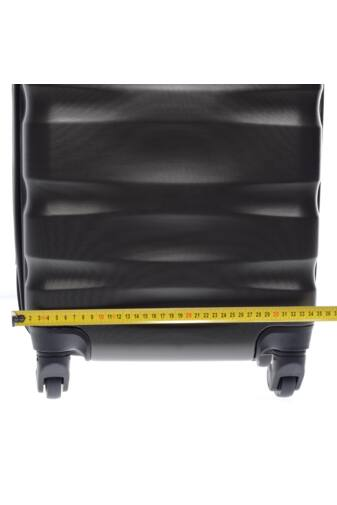LDV Sötétzöld Hullámnyomott ABS Kabinbőrönd (55*37*20 cm)