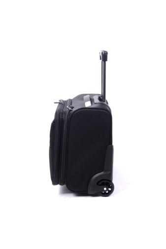 Swisswin Fekete Wizzair Méretű Kabinbőrönd (2 Kerekű)
