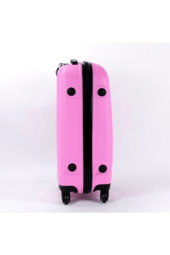 Besty Rózsaszín Extra Könnyű Kemény Közepes Bőrönd (4 Kerekű)