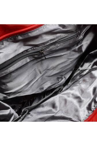 Besty Női Vízhatlan Pvc Válltáska Piros
