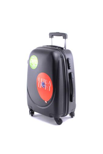 Besty Fekete Extra Könnyű Kemény kabinbőrönd (55×40×23 cm)