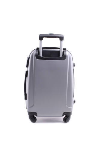 Besty Ezüst Extra Könnyű Kemény kabinbőrönd (55×40×23 cm)
