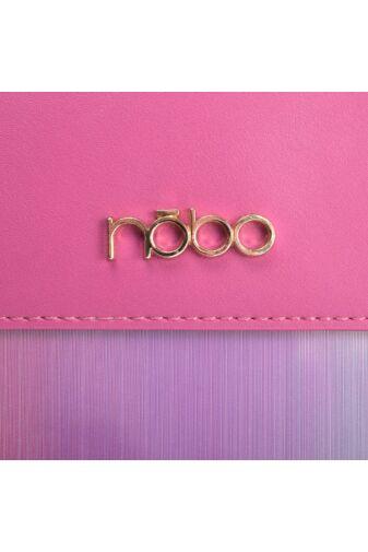 Nöbo Női Rózsaszín Rostbőr Válltáska