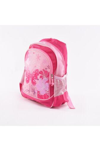 Rózsaszín Virágos Gyermek Hátizsák