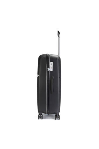 Bontour Cruise Fekete Kemény PP Nagyméretű Bőrönd