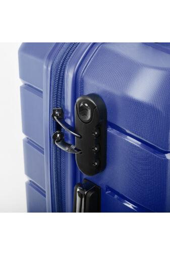 Besty Kék Polipropilén Bőrönd Szett