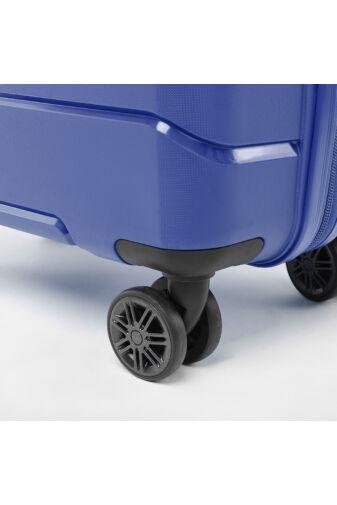 Besty Nagy Méretű Kék Polipropilén Bőrönd (77x48x32 cm)