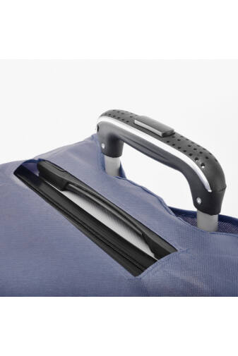 (S) Kisméretű Kék Bőröndvédő Huzat