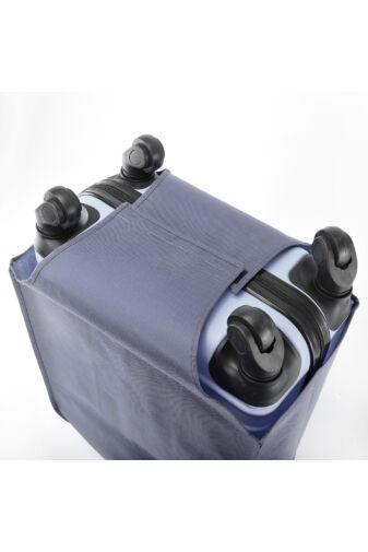 (L) Nagyméretű Kék Bőröndvédő Huzat