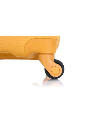 Bontour Sárga Nagyméretű ABS Bőrönd (76x52x28 cm)