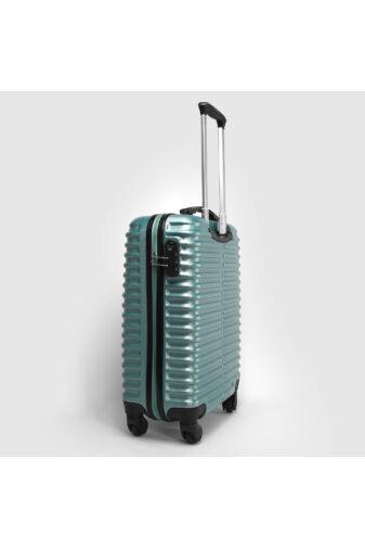 Menta Színű Közepes Méretű Kemény Bőrönd (65x41x24cm)