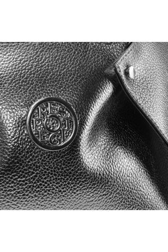Prestige Ezüst  Rostbőr Női Kézitáska