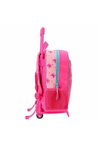 Minnie Super Helper Rózsaszín Gyermek Gurulós Hátizsák