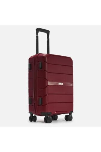 Besty Nagy Méretű Bordó Polipropilén Bőrönd (77x48x32 cm)
