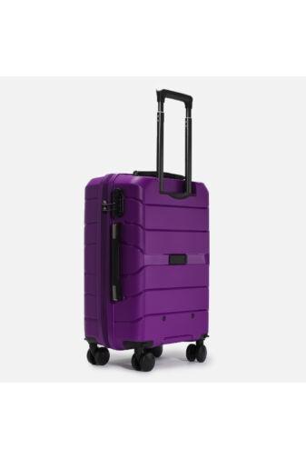 Besty Nagy Méretű Lila Polipropilén Bőrönd (77x48x32 cm)