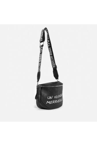 Besty Barna Műbőr Női Keresztpántos táska