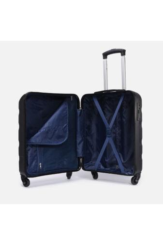 Rosegold, Ryanair Méretű Kabinbőrönd Biztonsági Zárral ( 55x40x20 cm)