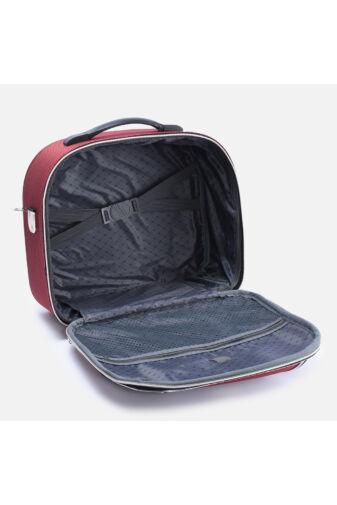 Bordó Bőröndre Akasztható Táska 38X32X17Cm