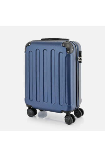 Bontour Sötétkék Vertical Kabinbőrönd (55x40x20CM) S