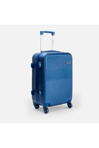 Leonardo Da Vinci Kék Színű Óriás Bőrönd (4 Kerekű) (85x55x32) XL
