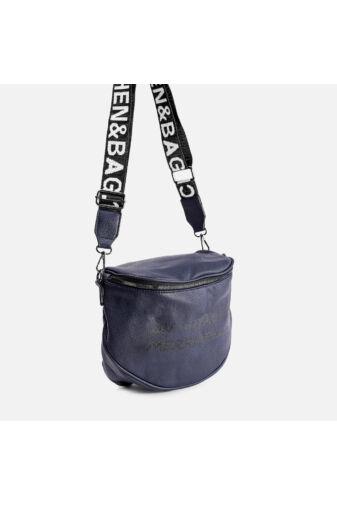 Besty Kék Műbőr Női Keresztpántos táska