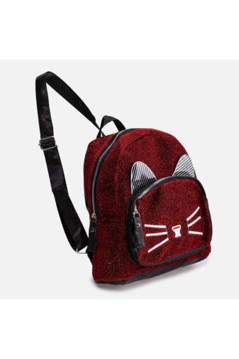 Csillámos cicás hátizsák