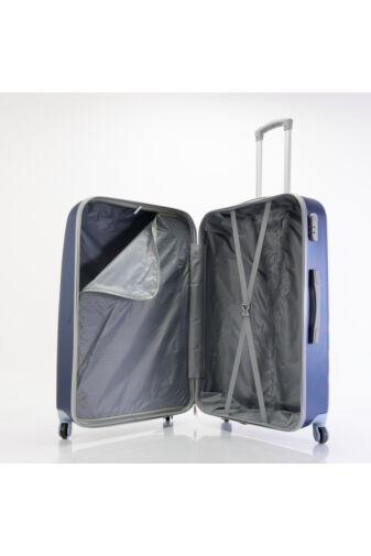 Kemény Nagy Bőrönd Rózsaszín (4 Kerekű)