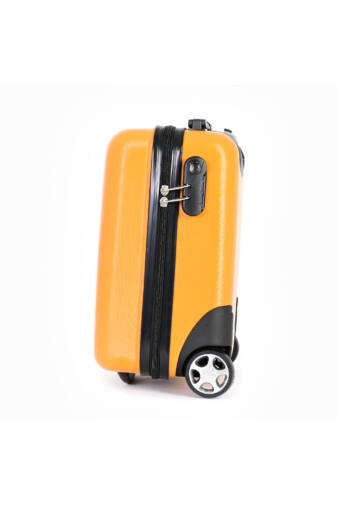 Sárga KÉZIPOGGYÁSZ Méretű Wizzair Gurulós Bőrönd(40*30*20cm)