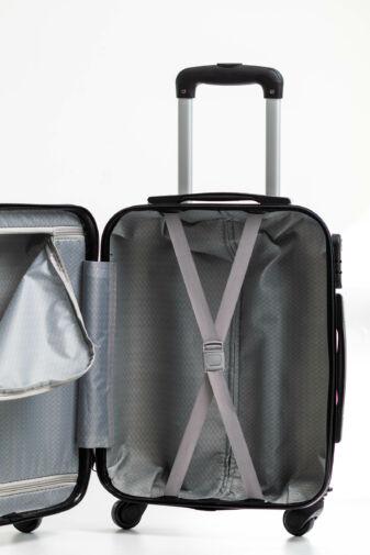 Épület Mintás Kemény Kabin Bőrönd